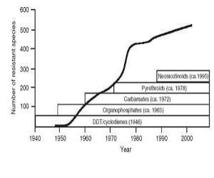 Ανθεκτικότητα των κουνουπιών στα εντομοκτόνα.